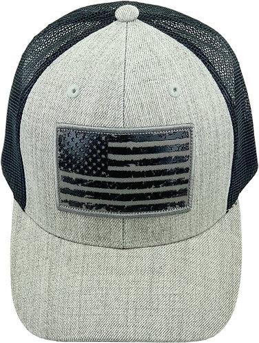 Heather Grey Trucker Hat