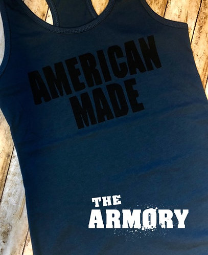 American Made Womans Battle Tank