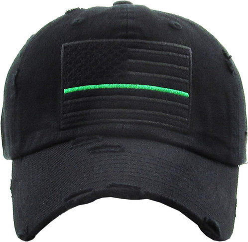 Thin Green Line Vintage Operator hat