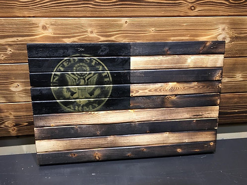 US Army Gold 13 x 21