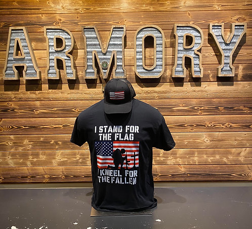 Stand for the flag- T shirt