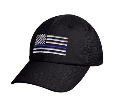 Thin Blue Line Mesh Back Ball Cap