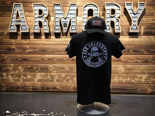 2nd Amendment Skull - T shirt