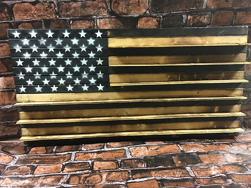 "Challenge Coin Flag 19""x37"""