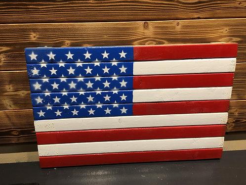 American Flag 13 x 21