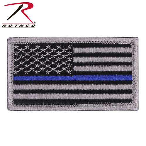 Thin Blue Line Flag Patch
