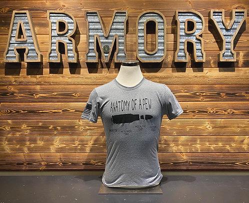 """Anatomy of a Pew"" - T-shirt"