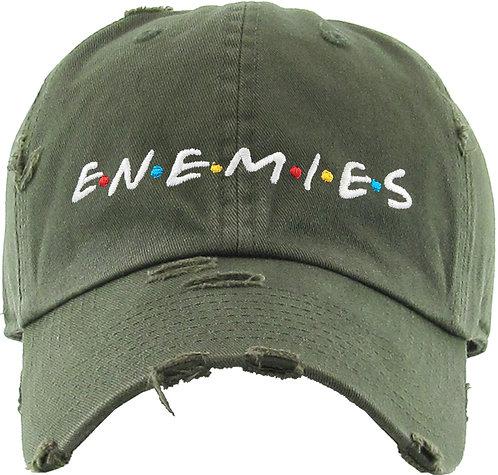 ENEMIES Olive Drab Vintage Operator hat
