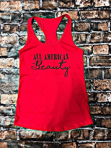 All American Beauty- Tank