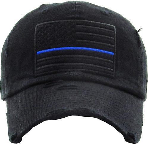 Thin Blue Line Vintage Operator hat