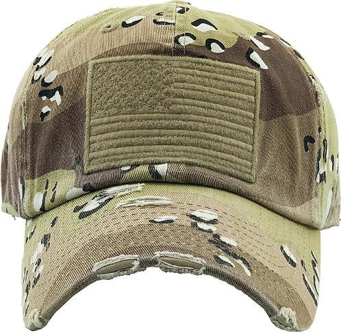 Desert Camo Vintage Operator hat