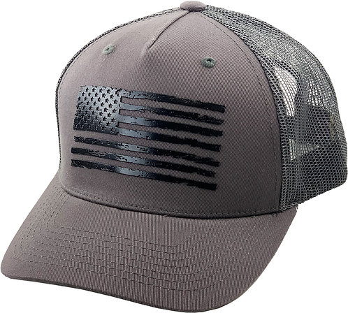 Dark Grey Trucker Hat