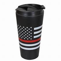 Thin Red Line Travel Mug