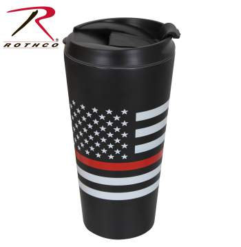 Thin Red Line Travel Mug