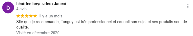 Merci Béatrice !