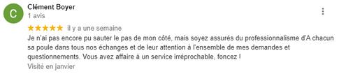 Merci Clément !