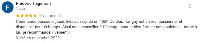 Merci Frédéric !