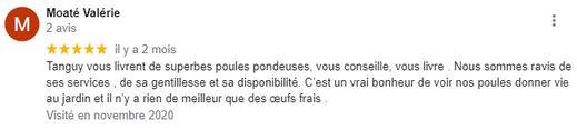 Merci Valérie !