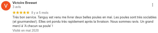 Merci Victoire !