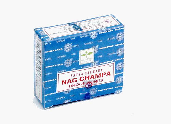 Satya NAG CHAMPA incense cones