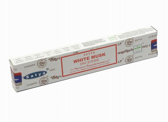 Satya WHITE MUSK incense sticks