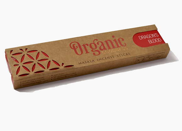Organic DRAGONS BLOOD incense sticks