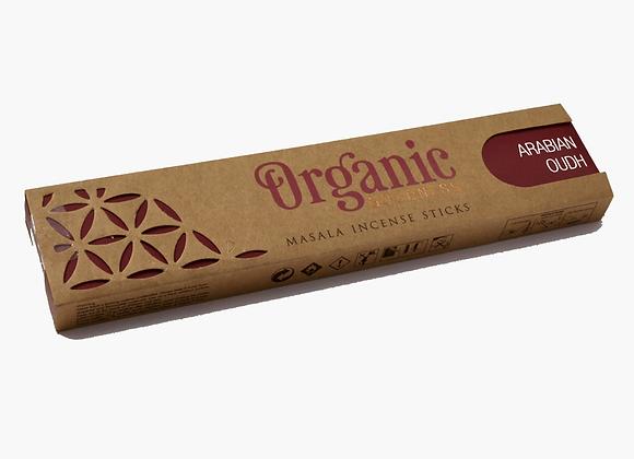 Organic ARABIAN OODH incense sticks