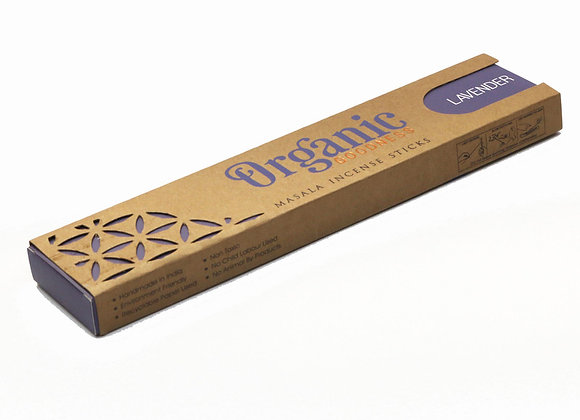 Organic LAVENDER incense sticks