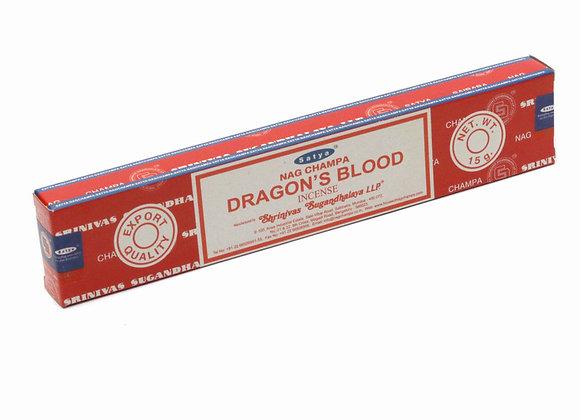 Satya DRAGON'S BLOOD incense sticks
