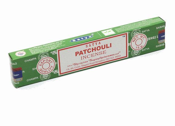 Satya PATCHOULI incense sticks