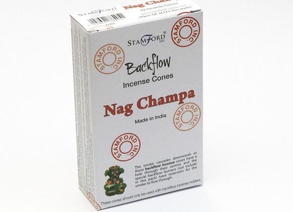 Backflow NAG CHAMPA incense cones