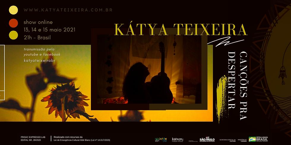 """Kátya Teixeira estreia """"Canções para Despertar"""""""