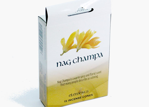 Elements NAG CHAMPA incense cones