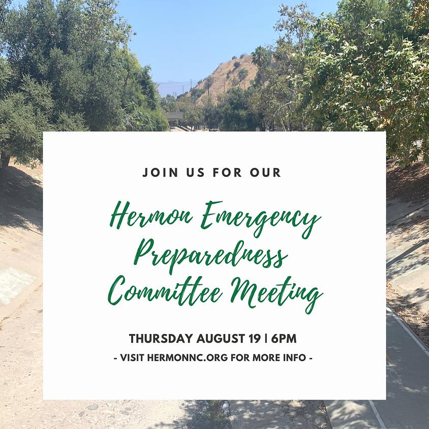 Hermon Emergency Preparedness Committee Meeting