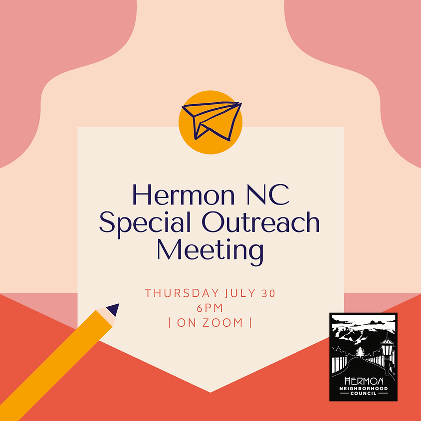 Special Outreach Committee Meeting