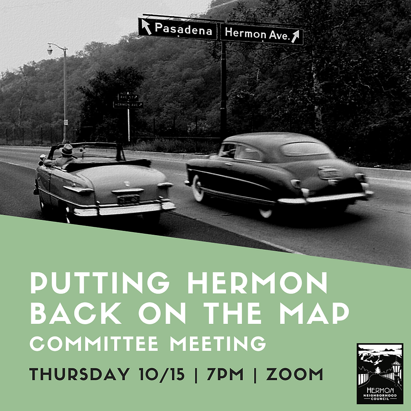 Putting Hermon Back on the Map Committee Meeting