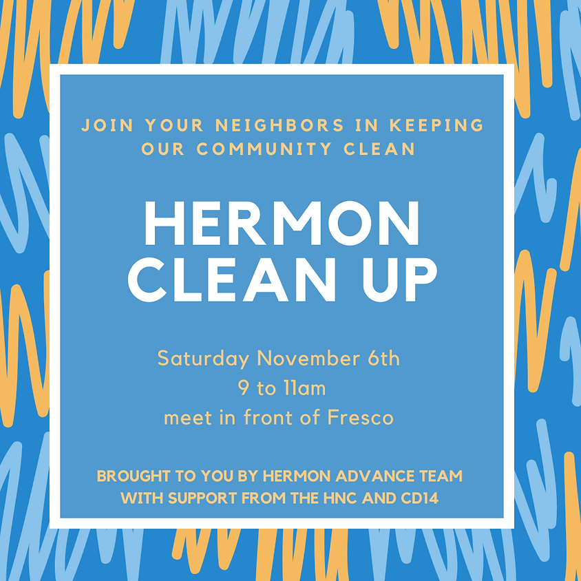 Hermon Community Clean Up