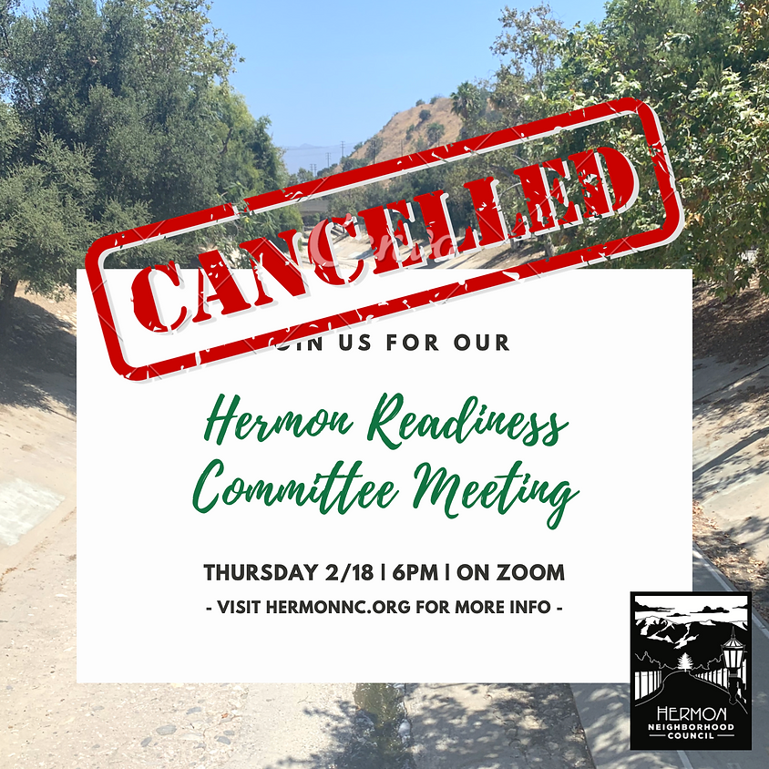 CANCELLED Community Readiness Committee Meeting