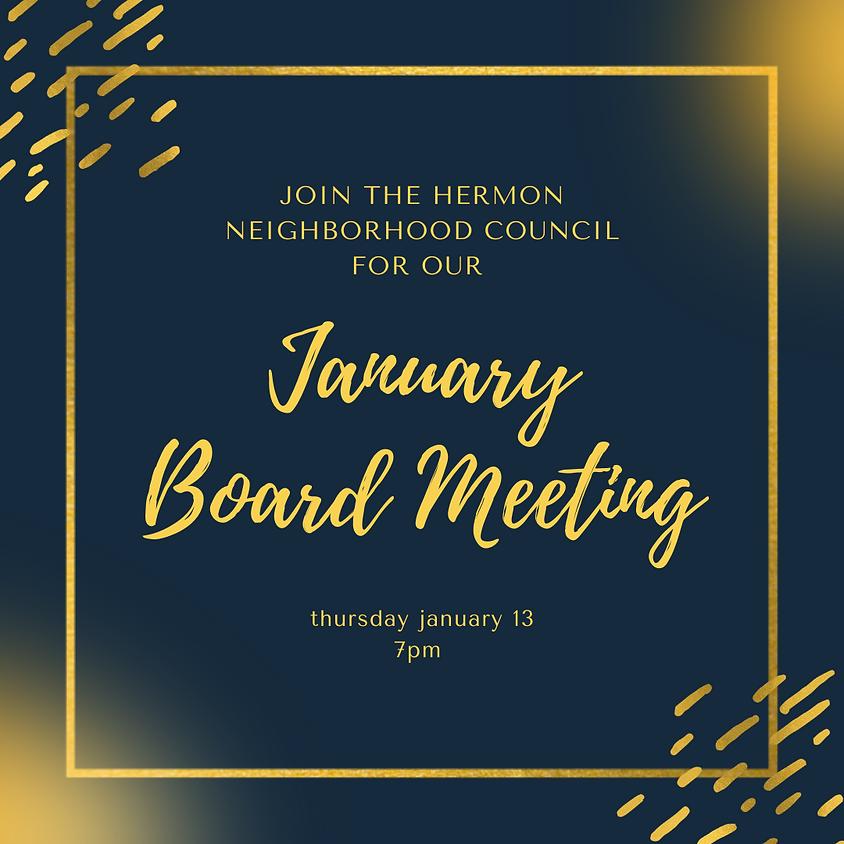 Hermon NC Board Meeting