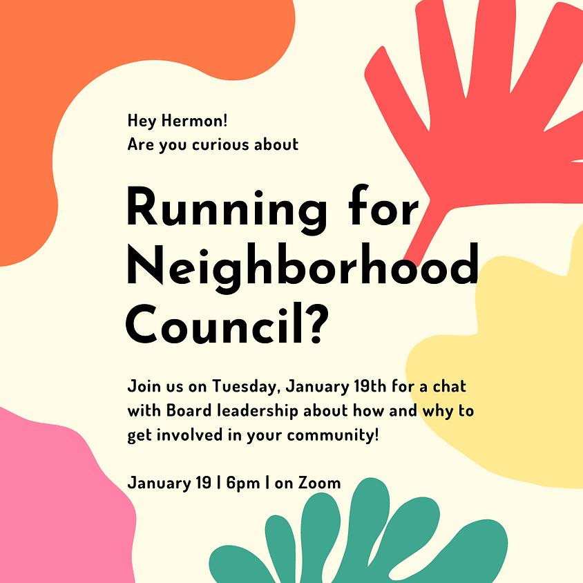 Neighborhood Council Elections Committee Meeting