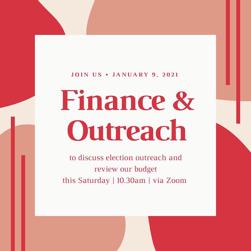 January Outreach and Finance Meetings