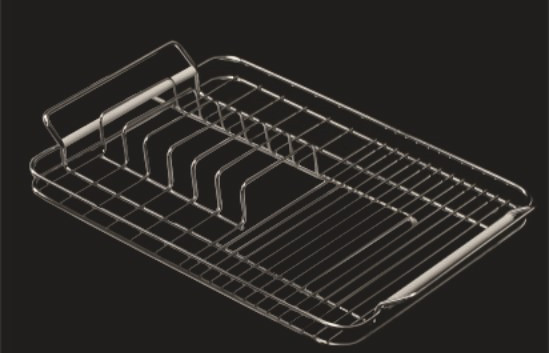 Escurreplatos de acero inox. Q71