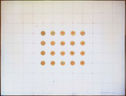 Grip-Rite on canvas grid