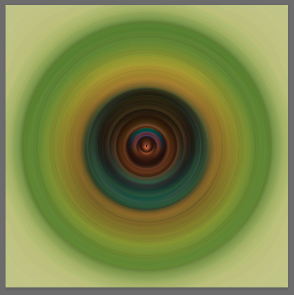 radial - random collage