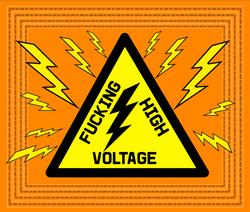 F--cking High Voltage orangeyellow