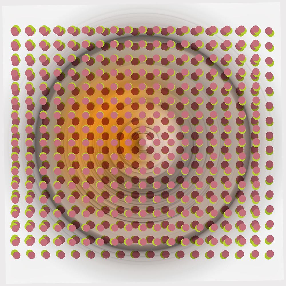 Elliptical (Limited edition pigment print on canvas, 30x30)