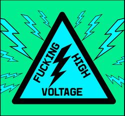F--cking High Voltage bluegreen