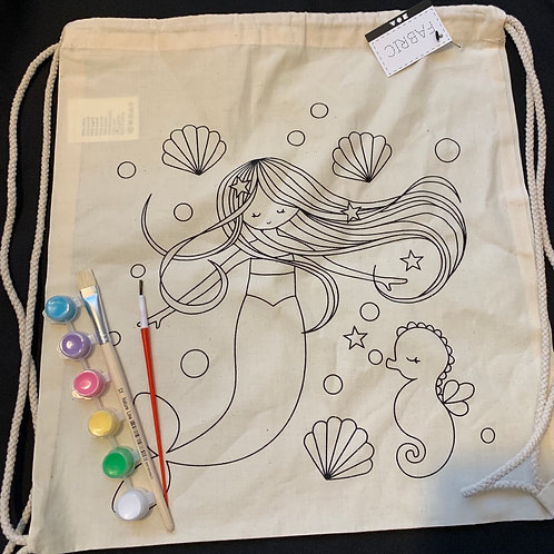 Fabric bag painting kit