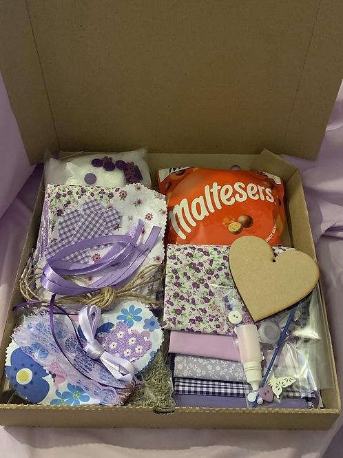 Hearts craft gift box