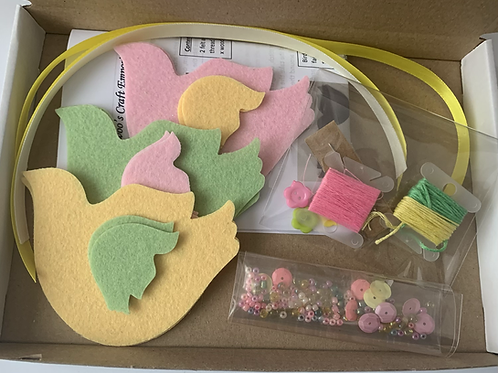 Folksy plant pals sewing kits